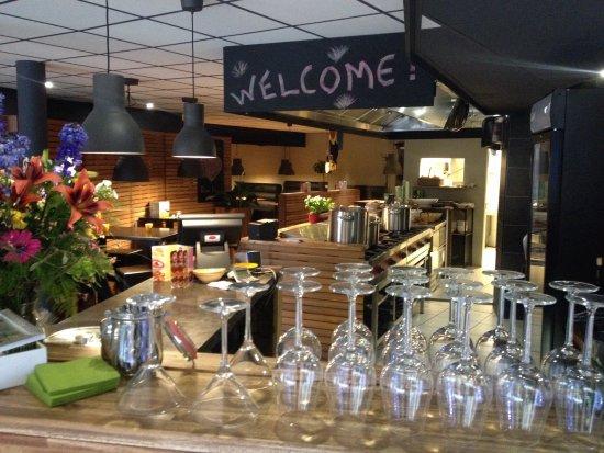 Heerlen, Pays-Bas : Fresh pasta's down town!