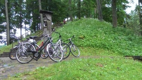 Birstonas, Lithuania: Near Vytautas hill
