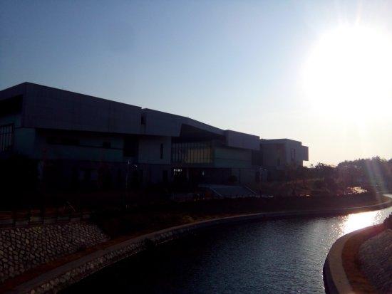 Mokpo, Korea Selatan: 기념관 전경