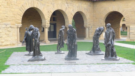 Palo Alto, CA: Eine Ausstellung von Skulpturen