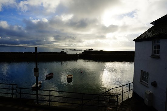Mousehole, UK: view from our room
