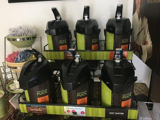 Zephyrhills, Floryda: Great Coffee in the lobby