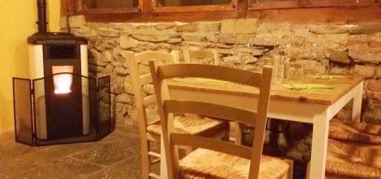 Laterina, Itálie: Veranda coperta e riscaldata