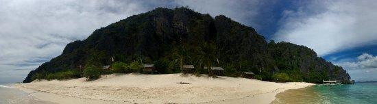 Black Island: panorama de l'île.