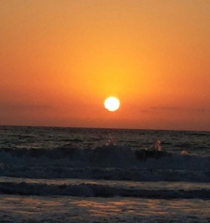 Grand Luxxe at Vidanta Nuevo Vallarta: example of the sunsets we saw every evening