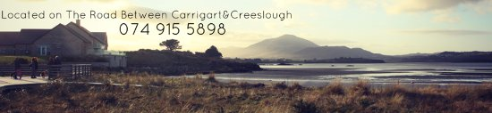 Carrigart, Ierland: Our Restaurant and View