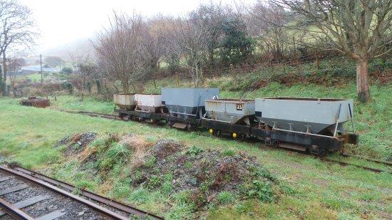 Tywyn, UK : Wagons on a siding.
