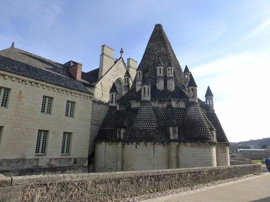 Fontevraud-l'Abbaye, Francia: Les cuisines