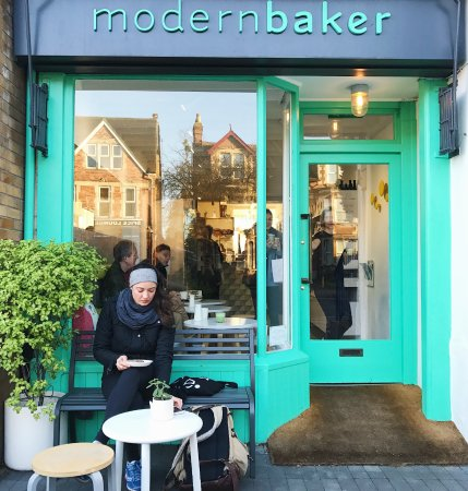 Modern Baker cafe and bakery in Oxford