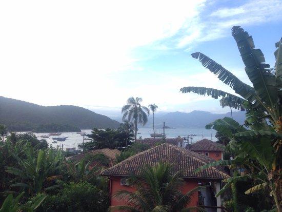 Pousada Tagomago Beach Lodge: Espectacular y tranquila vista al mar