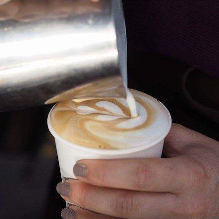 Pardubice, República Checa: Latte art je samozřejmostí