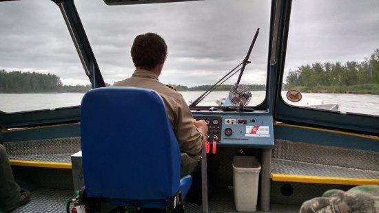 Талкитна, Аляска: Jet Boat Captain Israel