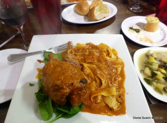 Rockledge, FL: My Osso Bucco with Tagliatelle - Not on the Menu