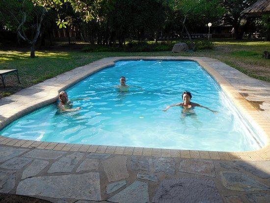 Hluhluwe, Sør-Afrika: la piscine