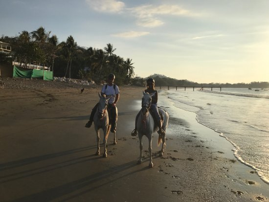 Playa Potrero, Costa Rica: Outstanding, we always go horseback riding when we are away. This was the best ride, excellent h