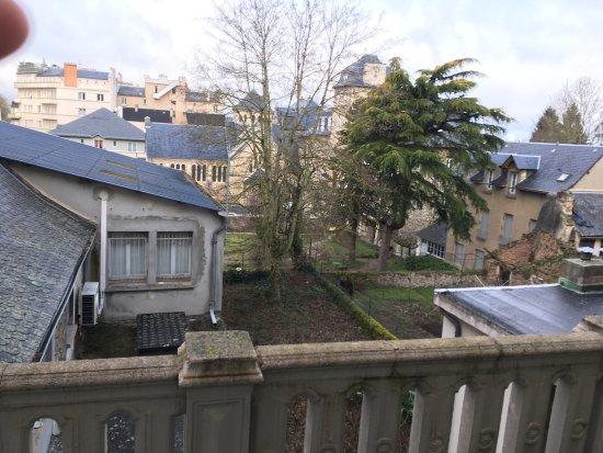 Rodez, Francia: Terrasse et vue