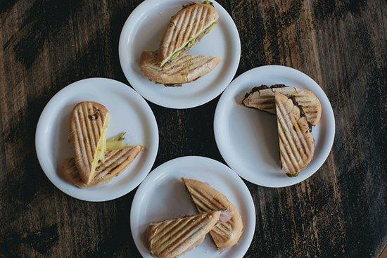 Old Havana Sandwich Shop: Four of our popular sandwiches: El Caney, Baracoa, Havana, Camaguey