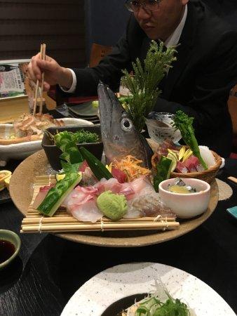 Arida, Japan: 新鮮な海の幸、太刀魚漁獲量日本一のまち有田市にある人気のお店です