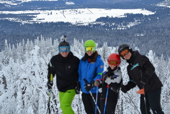 McCall, ID: My skiing family!