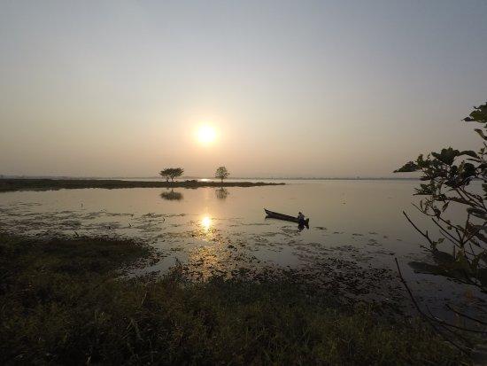 Katha, Myanmar: Indaw Lake