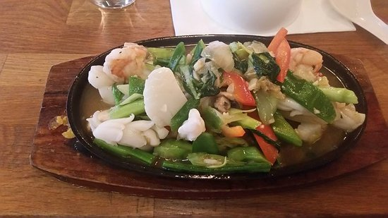 Greater London, UK: Seafood