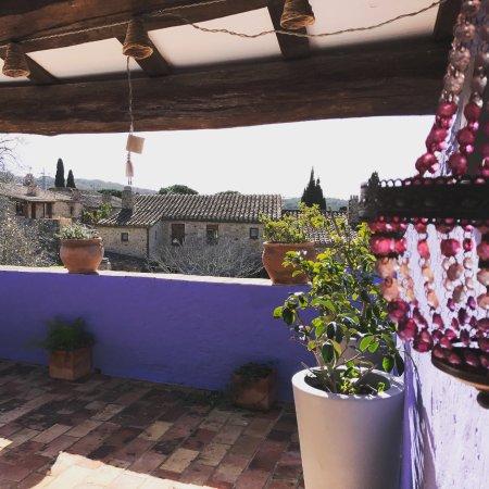 Hotel Can Casi: terraza