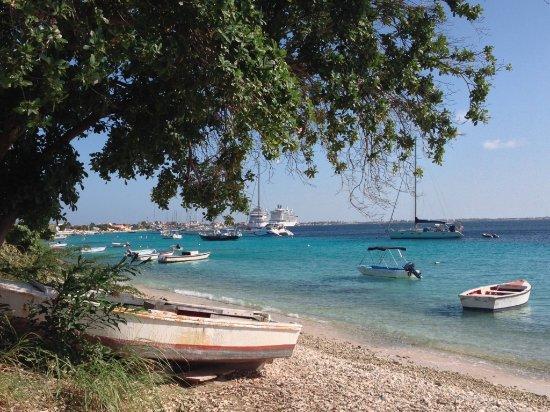 Harbour Village Beach Club: Scenic Bonaire waterfront