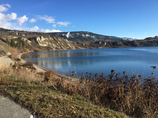 Penticton, Canada: leash free dog beach