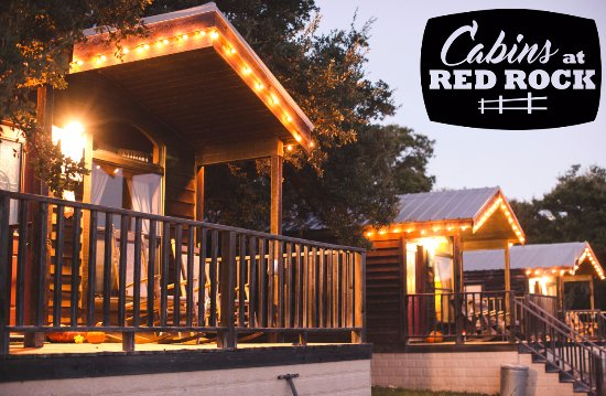 Cabins at Red Rock: Welcome to Red Rock!