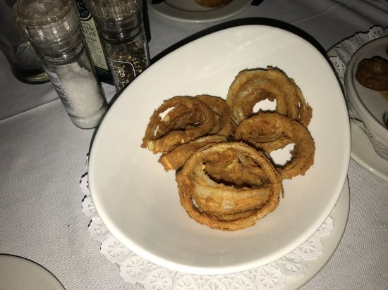 Bloubergstrand, South Africa: Onion rings