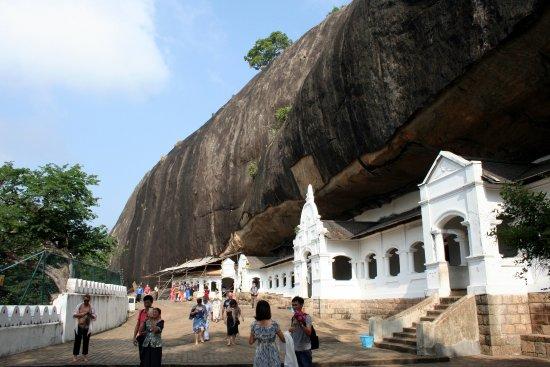 Dambulla, Sri Lanka: Vue d'ensemble