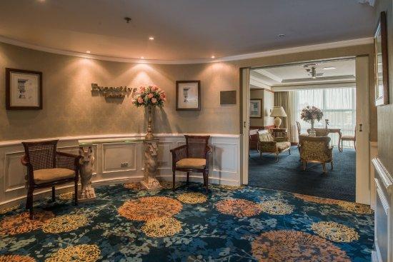Hilton Princess Managua: Executive Lounge Entrance.