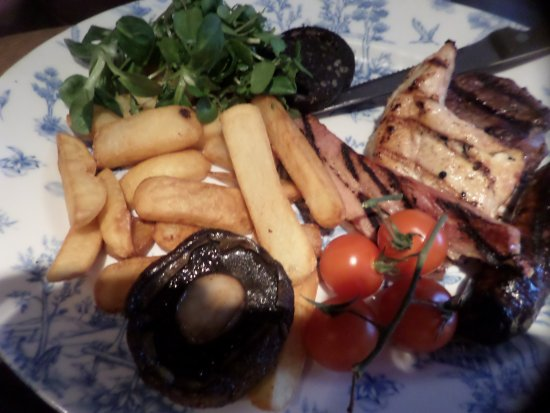Climping, UK: Mixed grill without the egg