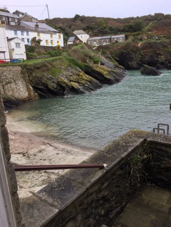 Portloe, UK: View from room 101