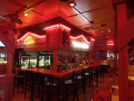Benton Harbor, MI: The lounge area.
