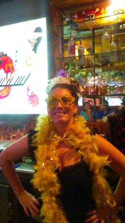 Jensen Beach, FL: Erica  Mardi gras !!