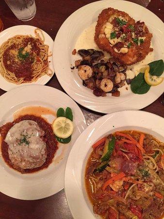AL'an Ruben's Bar and Grill: Fontenella Chicken w/shrimp special