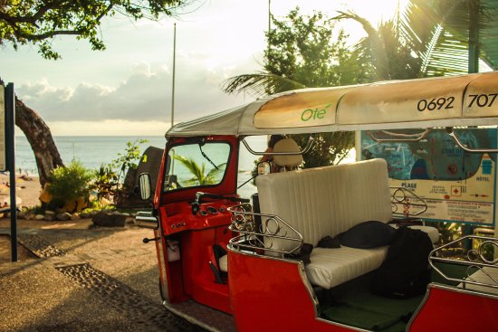 Saint-Gilles-Les-Bains, Reunión: Tuktuk pause