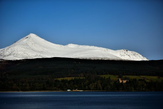 The Douglas Hotel: View from our room of Brodick