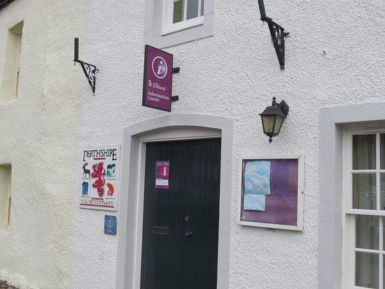 Dunkeld, UK: entrance