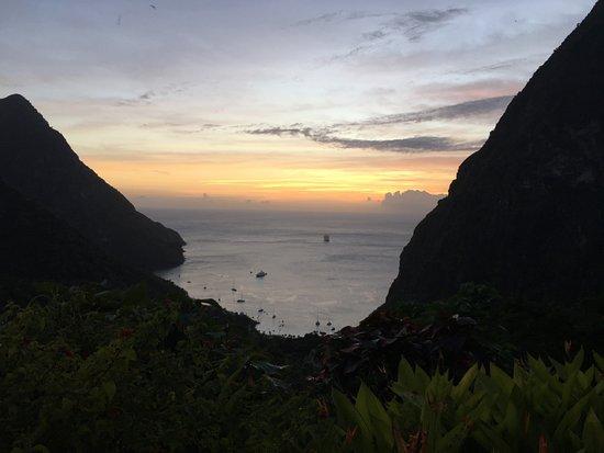 Ladera Resort: Suite S sunset