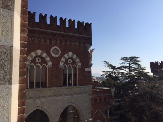 Castello d'Albertis: Vista dal castello