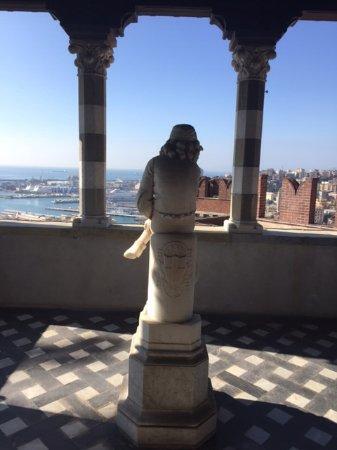 Castello d'Albertis: Vista panoramica dal Castello