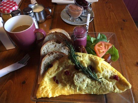 Val David, Canada: Omelette