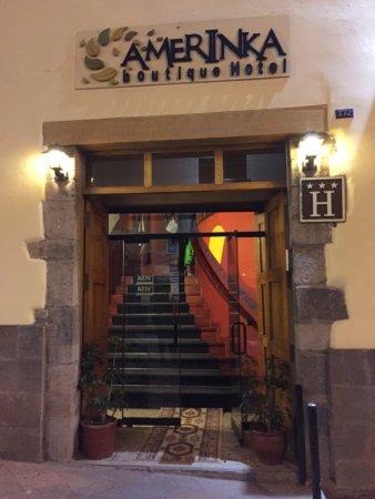Amerinka Boutique Hotel: Entrada del hotel