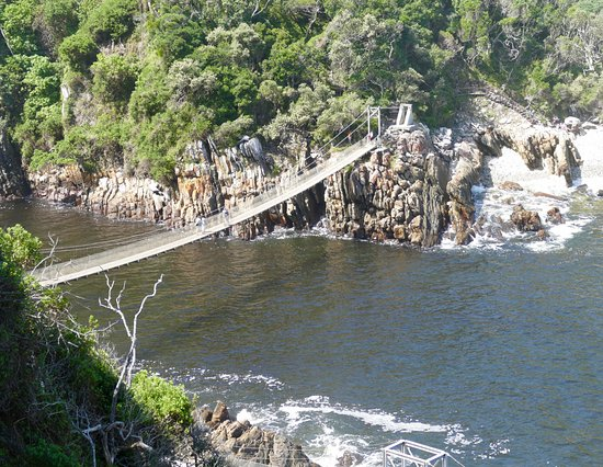 Tsitsikamma National Park, África do Sul: Suspension Bridge