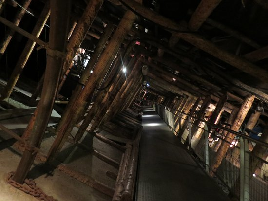 Petite-Rosselle, Frankreich: Visite de la mine (reconstitution)