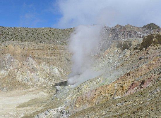 Mount Egon : pfeifende Dampflöcher