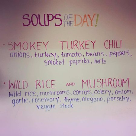 Rumford, Maine: Hot Soups all winter long!