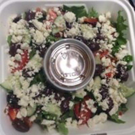 Rumford, ME: A variety of salad options including our Greek Salad!
